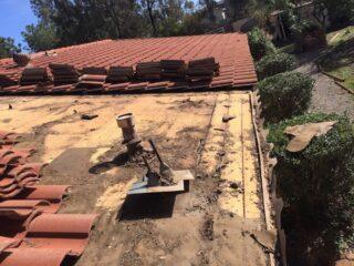Dach-Reparatur